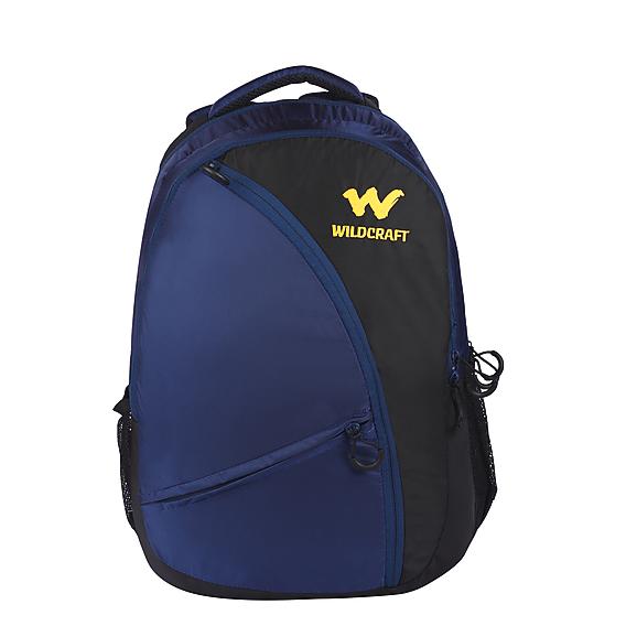 a4f12f4f38d1 Buy Backpacks Online  Avya Laptop Backpack - Black - Wildcraft