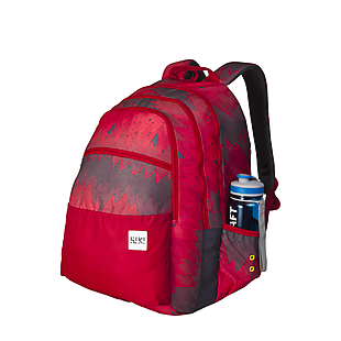 Wildcraft Wiki 8 Ombre Backpack - Red