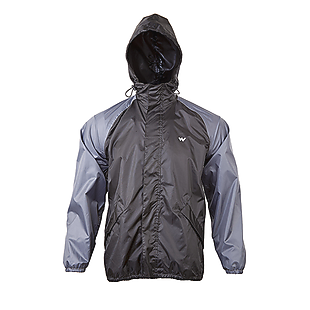 Wildcraft grey Unisex Rain Coats