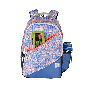 Wildcraft Wiki 3 Aztec Backpack - Purple