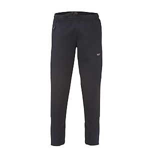 Wildcraft Men Hypacool Knitted Joggers - Black