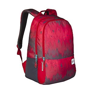 Wildcraft Wiki 1 Ombre Backpack - Red