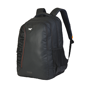 72bd61892c34 Buy Corpo Plus Laptop Backpack With Back Ventilation And Rain Cover - Black  Coated Online | Laptop Backpacks at Wildcraft