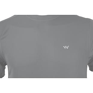 Wildcraft Men Hypacool Active Crew T Shirt - Dark Grey