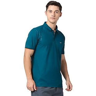 Wildcraft Men Poly Printed Polo-19
