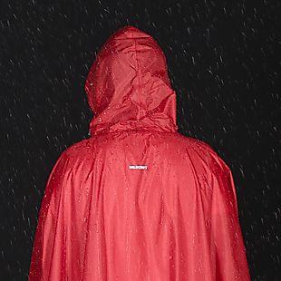Wildcraft Hypadry Plus Unisex Rain Poncho - Red