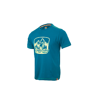 Wildcraft Men Crew T Shirt - Green