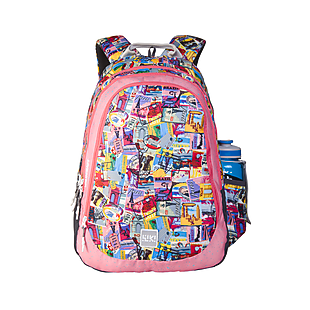 Wildcraft Wiki 6 Stamp Backpack - Pink