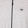 Wildcraft Men Zippered Sweatshirt For Winter - Grey Melange
