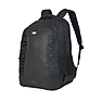 Wildcraft Corpo Plus Laptop Backpack With Back Ventilation And Rain Cover - Black Coated