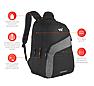 Wildcraft Virtuso Laptop Backpack With Internal Organizer - Black
