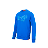 Wildcraft Men Sweatshirt Print - Camp - Light Blue