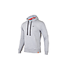 Wildcraft Men Sweatshirt Hoodie - Light Grey Melange